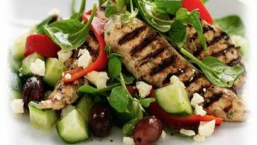 Greek Style Chicken Salad