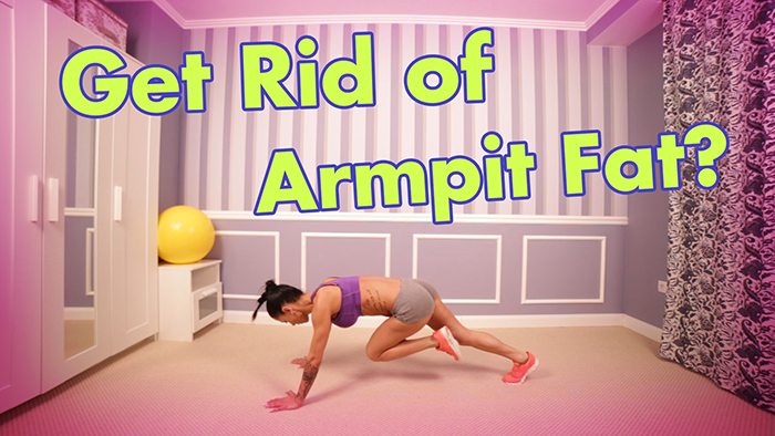 How to Get Rid of Armpit Fat
